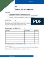 Informe 04 _equilibrio de Fuerzas y Momentos