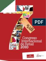 Folleto 7mo Congreso Internacional de Retail