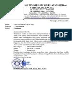 Surat undangan rapat penjaminan mutu