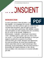 6-Conscience et inconscient