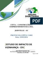 Modelo - Estudo de Impacto de Vizinhança - Residencial José Alencar