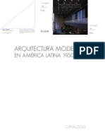 Arquitectura Moderna en America Latina