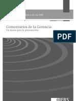 Documento Practica Niif Comentarios de La Gerencia