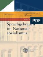 Kämper-Wibel - Sprachgebrauchim Nationalsozialismus