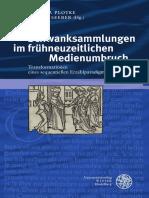 Plotke-Seeber - Schwanksammlungen Im FrühneuzeitlichenMedienumbruch