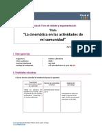 Guía_ FORO DEBATE Y ARGUMENTACIÓN_ESTÁTICA Y DINÁMICA_1