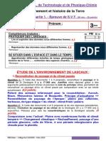 Evaluation 3o Dnb - Brevet Blanc 2019 Svt No1 Correction Eleve