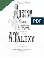 Talexy Pinsuti Rosina Pf BDH