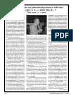 Topper, Uwe - Ein kritischer Denker und glänzender Organisator ist nicht mehr - Dr. Eugen Gabowitsch (2009, E-Artikel, dsb.)