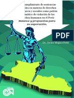 El Incumplimiento de Sentencias Judiciales en Materia de Derechos Económicos y Sociales