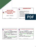 M2-montage Financier