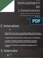 Management de Linnovation Séances 2 Et 3 (1)