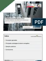 Ejemplos Prácticos de Eficiencia en ascensores