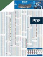 YPF Tabela 2019 Design InforlubeBX
