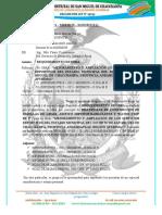 INFORME  N° 040– 2021 – MDSMCH – GDUR-N.Y.C. Requerimiento ESTADIO