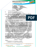 INFORME  N° 047 – 2021 – MDSMCH – GDUR-N.Y.C. conformidad de pago.