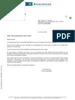 Avis D_échéance Assurance Habitation Contrat BQ 000000007684296 Au 2021-06-01