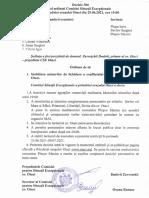 Decizia Comisiei Situații Excepționale Ocnița din 25 iunie 2021