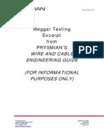 Megohmeter Testing Rev 1
