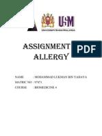 assign (ALLERGY)-LUKMAN YAHAYA (97471)