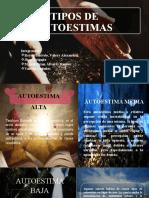 TIPOS DE AUTOESTIMAS