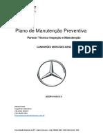 PLANO DE MANUTENÇÃO MERCEDES AXOR 4144