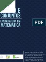 Logica e Conjuntos - Livro elementar
