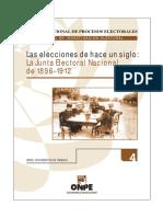 Aguilar Roisida, Elecciones de hace un siglo ONPE