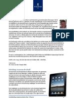 Handleiding en tips implementatie iPad voor de gemeenteraad