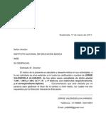 carta INEB