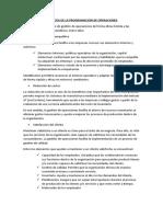 BENEICIOS DE LA PROGRAMACIÓN DE OPERACIONES