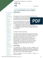 CONTENÇÃO EM TERRA ARMADA - LAN - LUIZ A
