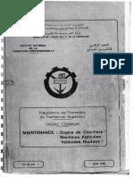 Progrmme de Formation de Technicien Superieur Tronc en Algerie Commun