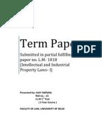 Term Paper_musical work