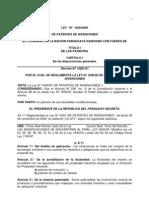 Ley 1630 Patentes