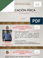 Presentación semana de evaluación  Diagnóstica Educación Física