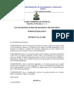 Ley de Instituciones de Seguros y Reaseguros Decreto 22_2001