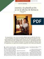 La Ergonomía y La Planificación Del Trabajo en La Oficina de Farmacia (3)