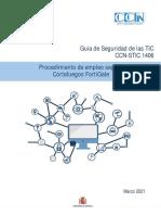 CCN-STIC-1406 Procedimiento de empleo seguro Fortigate_
