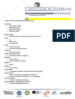 Novo Protocolo para Exames para Faixas Coloridas