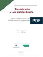 Encuesta sobre el Libro Digital en España 2011