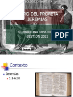Diapositivas Del Docente Para El Libro Del Profeta Jeremías (2021)