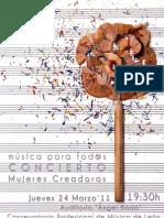 Dossier de Prensa - Mujeres Creadoras 2011