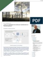 Ingeniería de Máquinas y Sistemas Eléctricos_ ¿Cómo se identifican las averías por sobretensión en Transformadores_