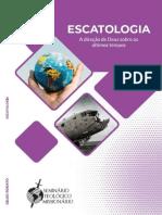 Escatologia_ A direcao de Deus - Gildo Augusto Rorato Silva