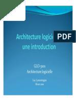Intro Architecture