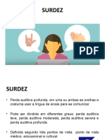 Slide Surdez