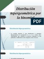 282918690 Presentacion Distribucion Hipergeometrica Por La Binomial