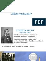 Estructuralismo Wundt