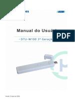 User Manual DTU-W100 3 Gen
